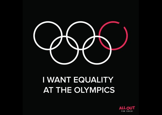 Sochi 2014 I Want Equality